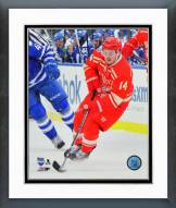 Detroit Red Wings Gustav Nyquist Winter Classic Action Framed Photo
