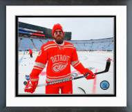 Detroit Red Wings Henrik Zetterberg 2014 NHL Winter Classic Action Framed Photo