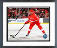 Detroit Red Wings Johan Franzen 2014-15 Action Framed Photo