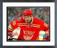 Detroit Red Wings Pavel Datsyuk 2014 Winter Classic Action Framed Photo