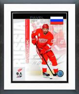 Detroit Red Wings Pavel Datsyuk Russia Portrait Plus Framed Photo