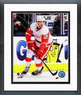 Detroit Red Wings Riley Sheahan 2014-15 Action Framed Photo