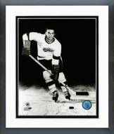 Detroit Red Wings Ted Lindsay Skating Framed Photo