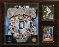 "Detroit Tigers 12"" x 15"" All-Time Great Photo Plaque"