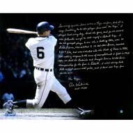 "Detroit Tigers Al Kaline Swing Story Photo Signed 16"" x 20"" Photo"