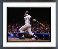Detroit Tigers Alan Trammell 1984 World Series Action Framed Photo
