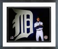 Detroit Tigers Brad Ausmus 2014 Posed Framed Photo