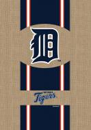 Detroit Tigers Burlap Flag