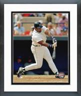 Detroit Tigers Cecil Fielder Action Framed Photo