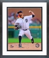 Detroit Tigers David Price 2014 Action Framed Photo