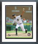 Detroit Tigers David Price 2015 Action Framed Photo