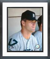 Detroit Tigers Denny McLain Posed Framed Photo