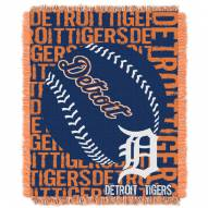 Detroit Tigers Double Play Jacquard Throw Blanket