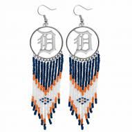 Detroit Tigers Dreamcatcher Earrings