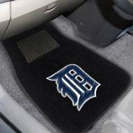 Detroit Tigers Embroidered Car Mats