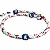 Detroit Tigers Frozen Rope Baseball Necklace