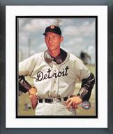 Detroit Tigers Hal Newhouser Posed Framed Photo