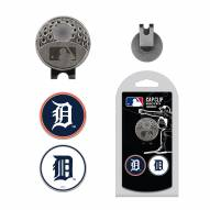 Detroit Tigers Hat Clip & Marker Set