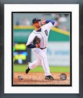 Detroit Tigers Ian Krol 2014 Action Framed Photo