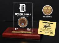 Detroit Tigers Infield Dirt Etched Acrylic