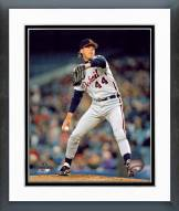 Detroit Tigers John Doherty Action Framed Photo