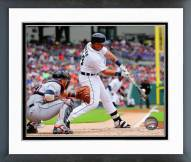 Detroit Tigers Miguel Cabrera 2015 Action Framed Photo