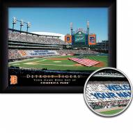 Detroit Tigers Personalized Framed Stadium Print