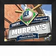 Detroit Tigers Personalized Framed Sports Pub Print