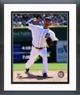Detroit Tigers Rick Porcello 2014 Action Framed Photo