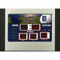 Detroit Tigers Scoreboard Desk Clock