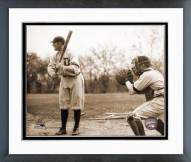 Detroit Tigers Ty Cobb Batting Framed Photo