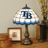 Tampa Bay Devil Rays MLB Stained Glass Table Lamp
