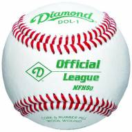 Diamond NFHS DOL Official League Baseballs - Dozen