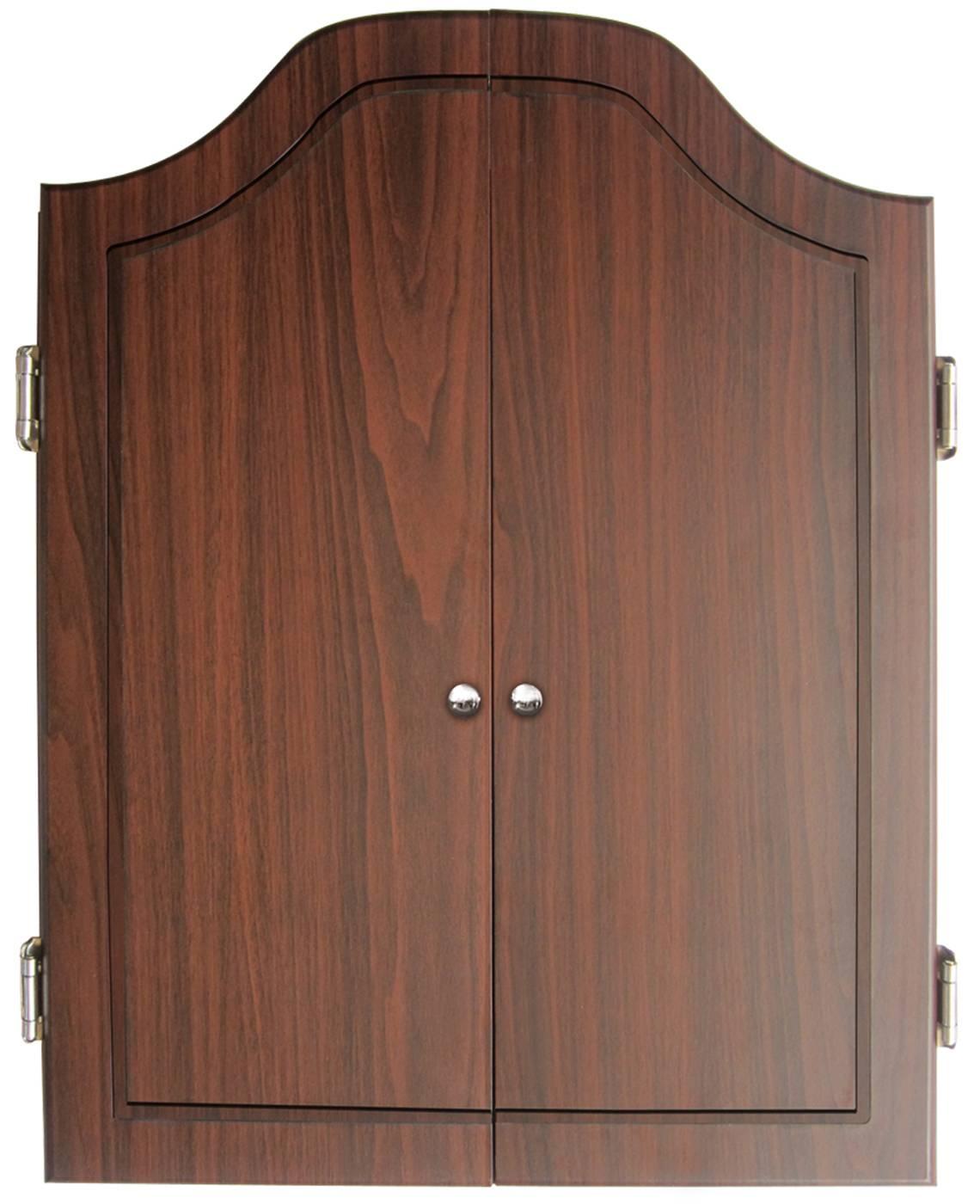 dmi darts deluxe dartboard cabinet sets bristle dart board c