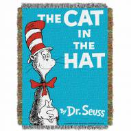 Dr. Seuss Cat In The Hat Throw Blanket