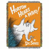 Dr. Seuss Horton Hears A Who Throw Blanket