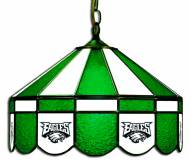 "Philadelphia Eagles NFL Team 16"" Diameter Stained Glass Pub Light"