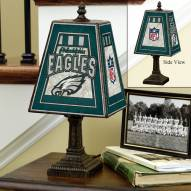 Philadelphia Eagles NFL Hand-Painted Art Glass Table Lamp