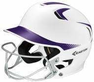 Easton Z5 Fastpitch Two Tone Senior Batting Helmet with Softball Mask