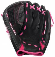 "Easton ZFXFP 1100BKPK Z-Flex 11"" Utility Fastpitch Softball Glove - Right Hand Throw"