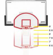 Bison 6-in-1 Adjustable Easy-Up Youth Basketball Goal