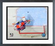 Edmonton Oilers Ben Scrivens 2014-15 Action Framed Photo