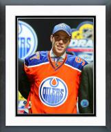 Edmonton Oilers Connor McDavid 2015 NHL #1 Draft Pick Framed Photo