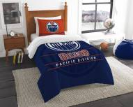 Edmonton Oilers Draft Twin Comforter Set