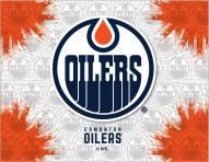 Edmonton Oilers Logo Canvas Print