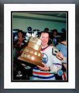 Edmonton Oilers Mark Messier Conn Smythe Trophy 1984 Stanley Cup Finals Framed Photo