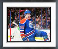 Edmonton Oilers Ryan Nugent-Hopkins 2014-15 Action Framed Photo