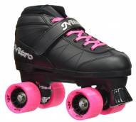 Epic Super Nitro Red Quad Speed Skates