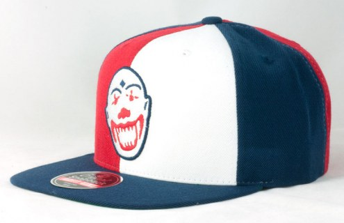clowns negro league replica snapback hat