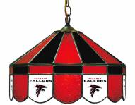 "Atlanta Falcons NFL Team 16"" Diameter Stained Glass Pub Light"